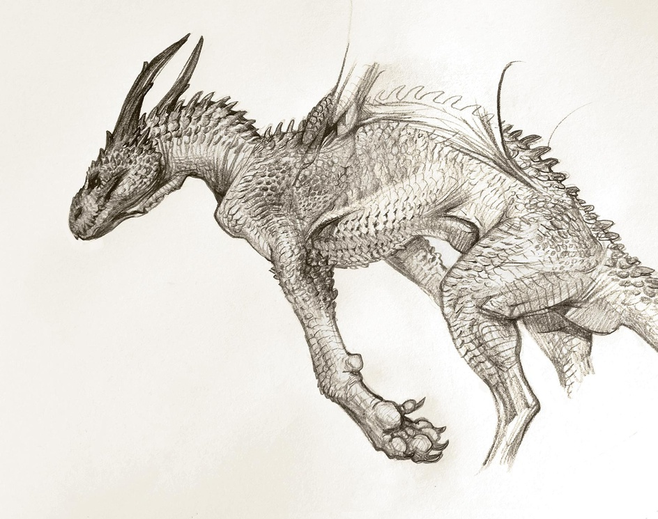 Sketching from the Imagination: Creatures & Monsters is available now!by 3dtotal staff