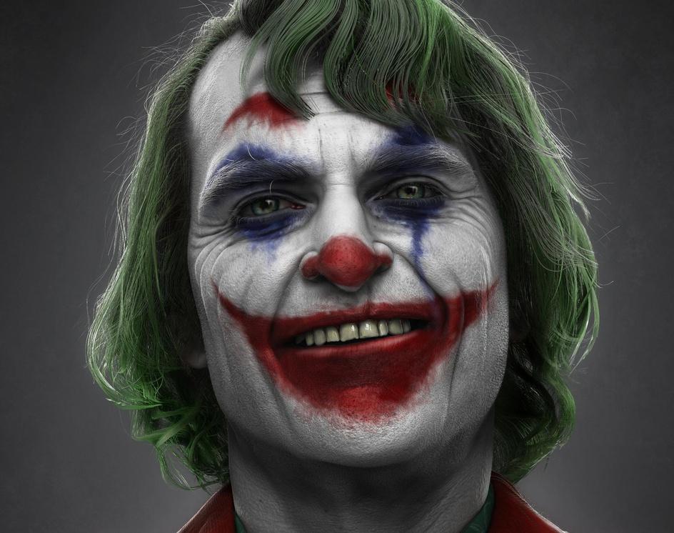 Joker (Joaquin Phoenix)by Hossein_Diba