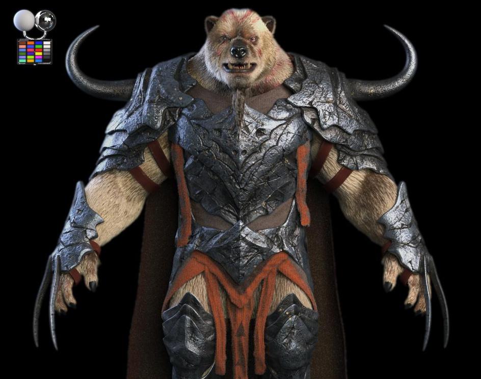 Warrior Bearby Felipe Gomez