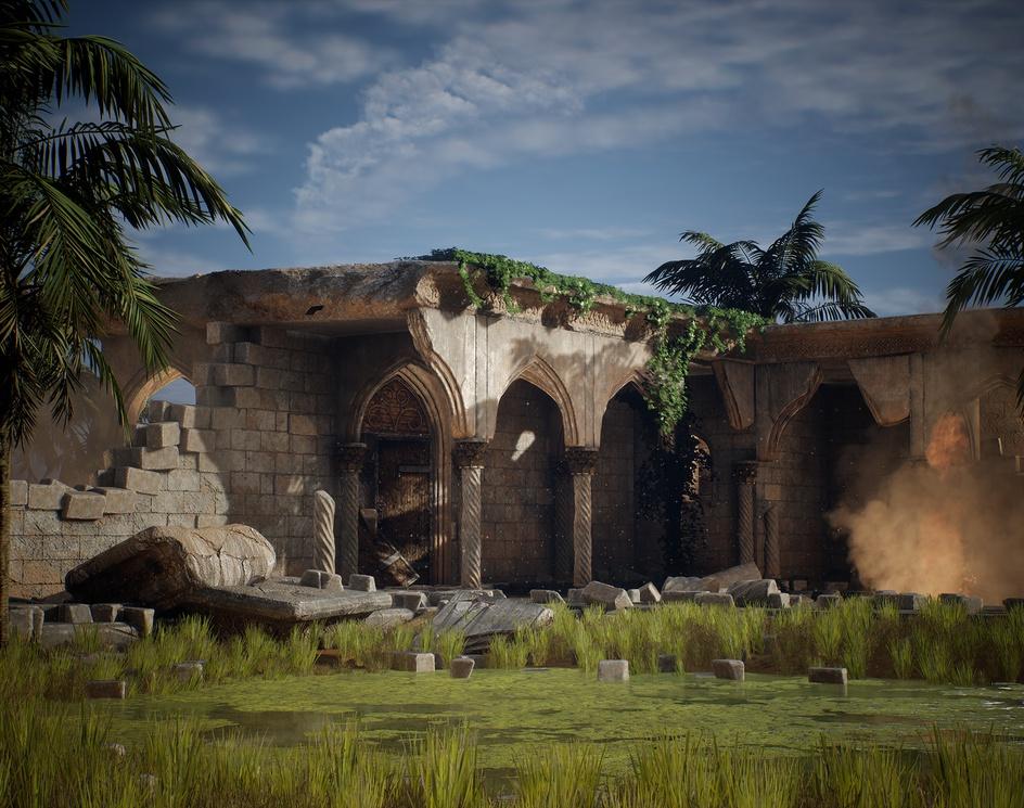 Unreal Engine - Modular Environmentby Belal Atullah