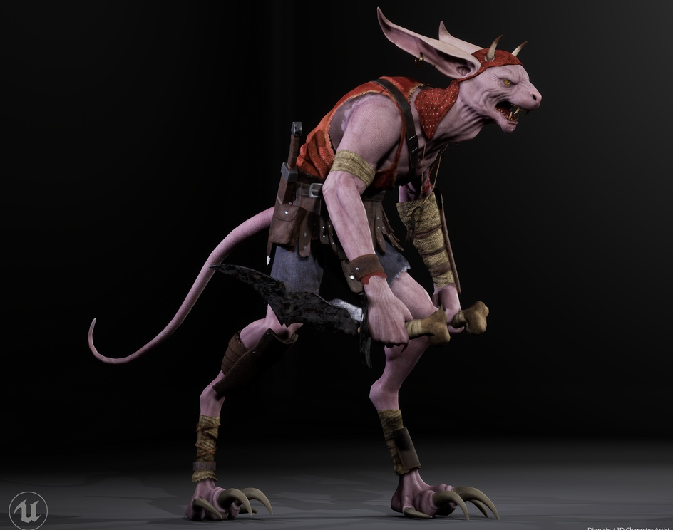 Kobold Dungeons & Dragons Redesign - Unreal Engine 4by Gabriel Dionisio