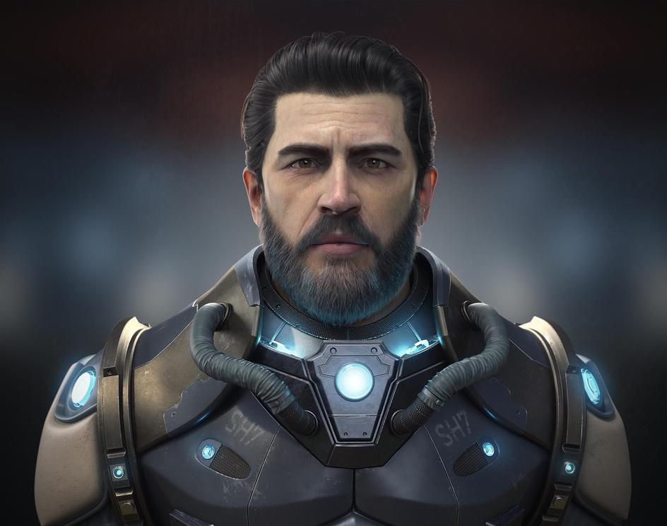 Sci-fi infantryman by Denis Alifanov · 3dtotal · Learn