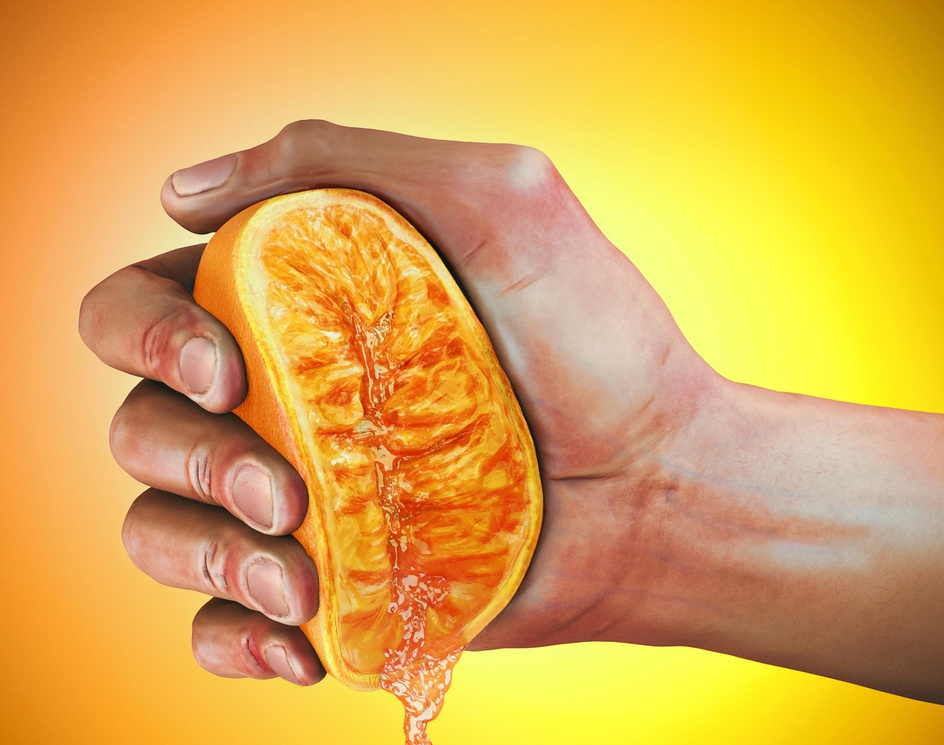 hand, anatomical studyby CROMO3D