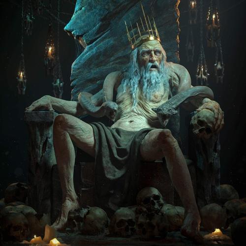 skull bones horror fantasy character design