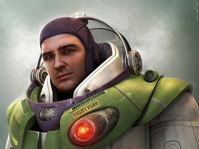 Buzz Lightyear real life