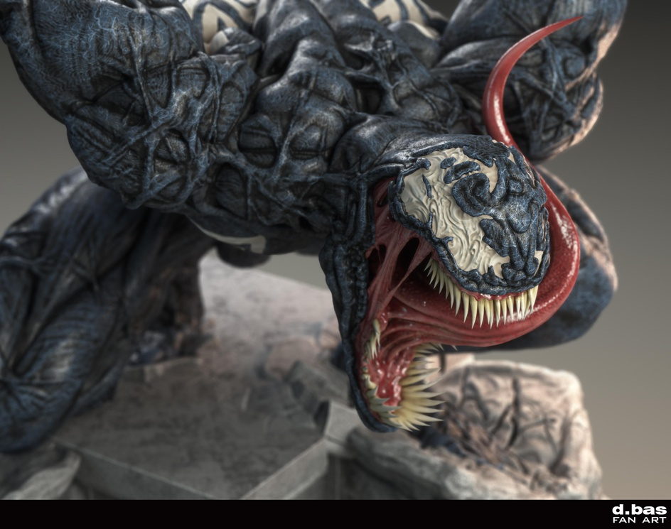 Venom - Fan artby Dario Bas