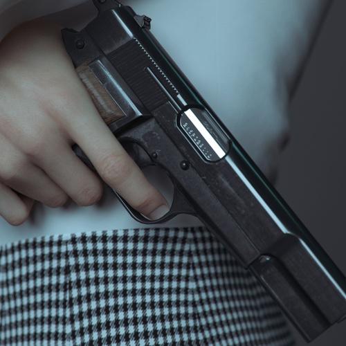 cg gun and shirt