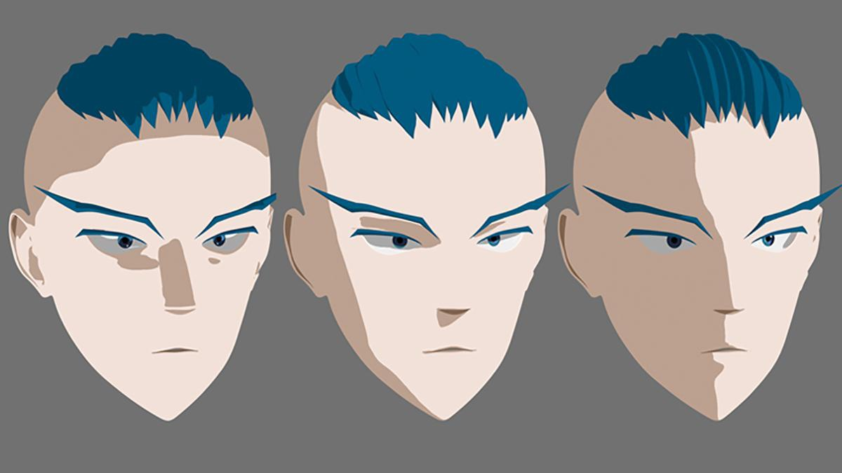 Creating An Anime Head In 3ds Max 3dtotal Learn Create Share