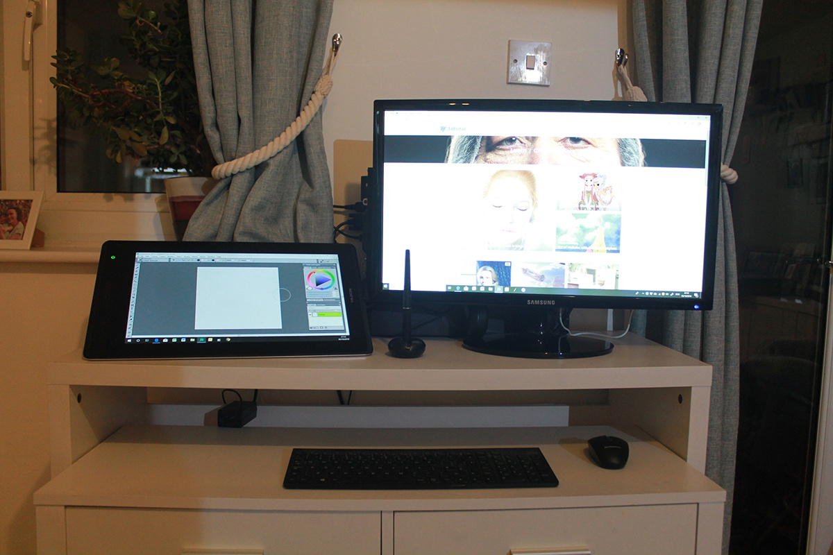 technology set up huion pro 16