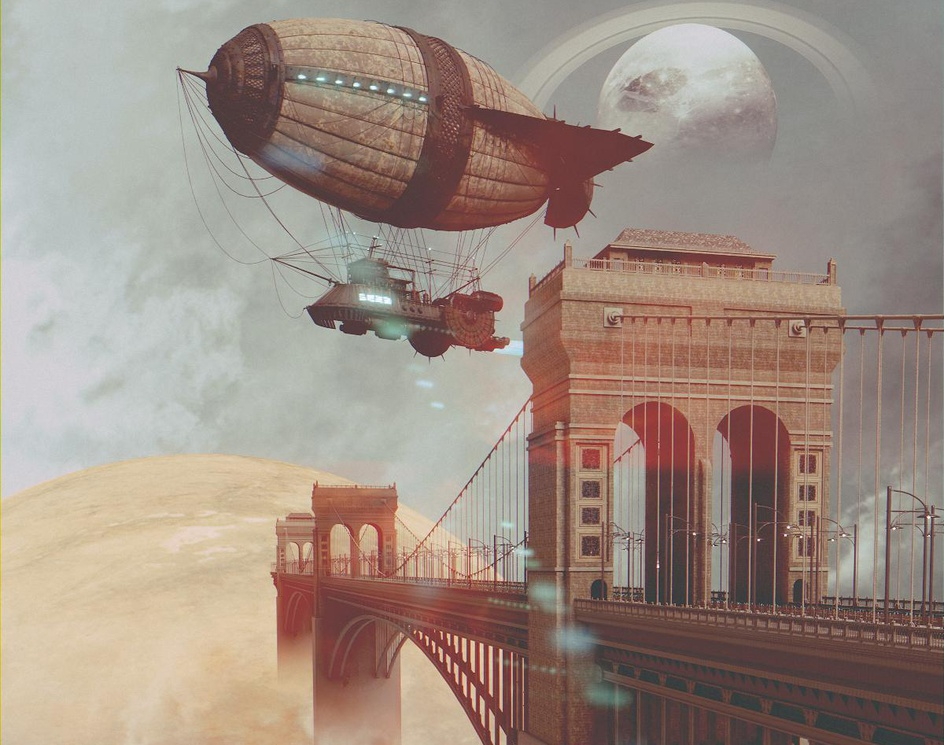 Interplanetary Bridgeby Miklosi Zoltan