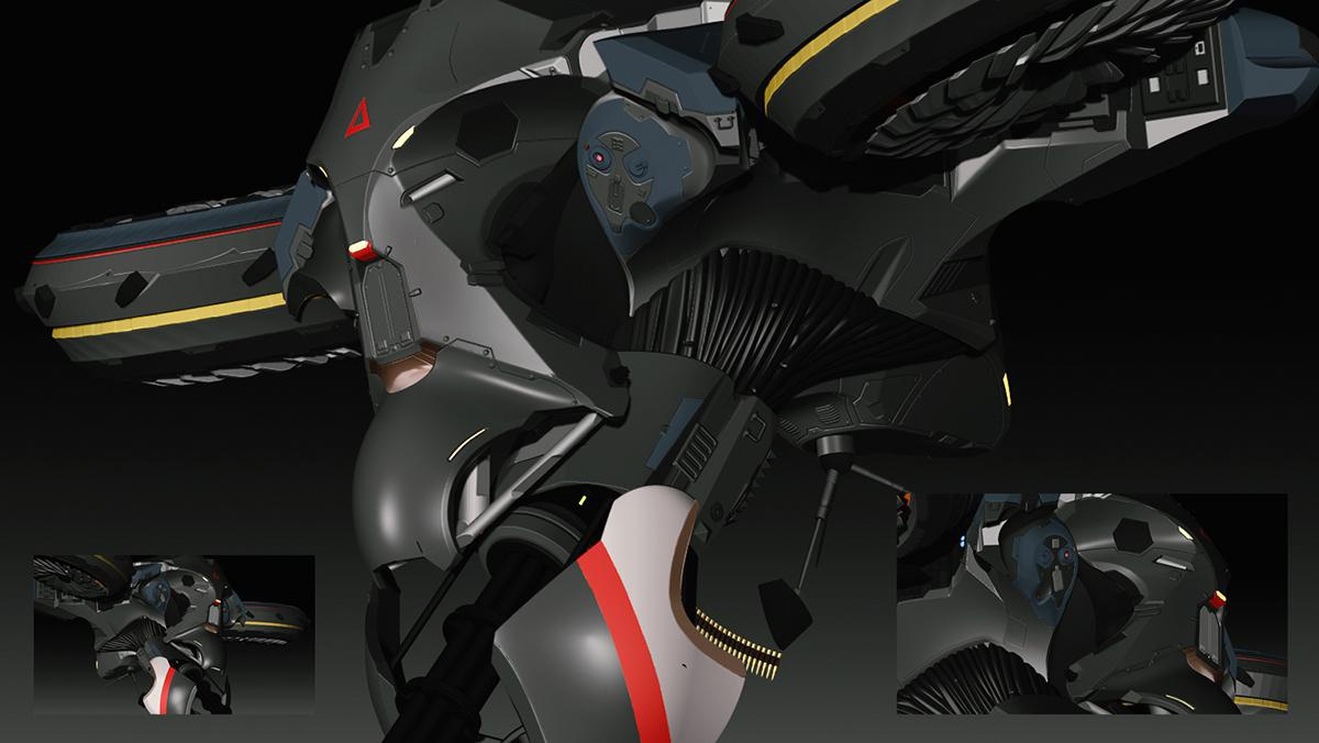 3d model wardrone