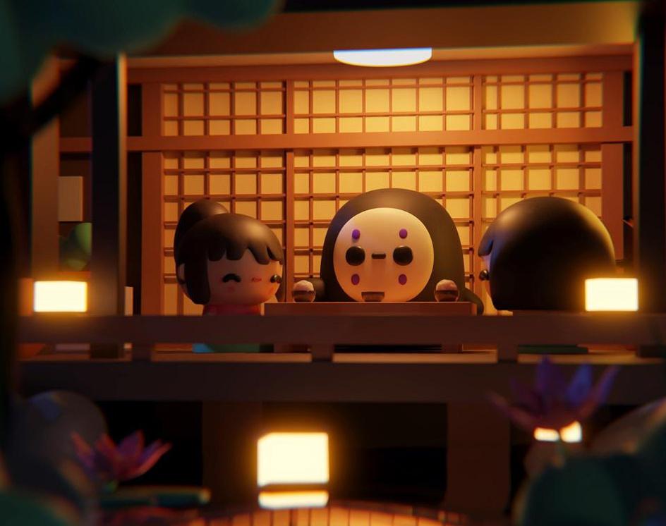 VDI September: Studio Ghibliby Osmar Axel