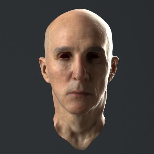 3d face model hannibal