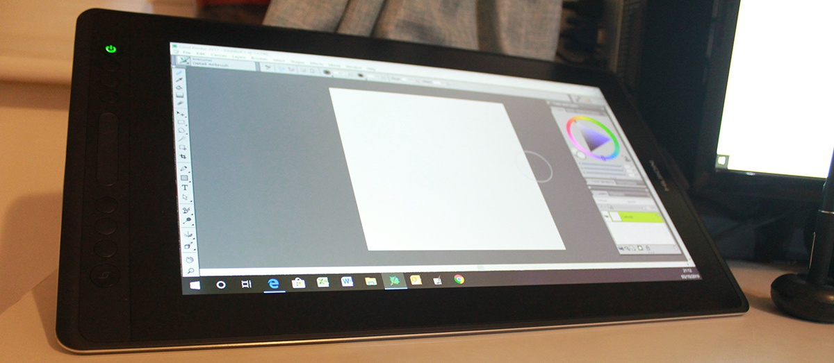 huion pro 16 tablet screen