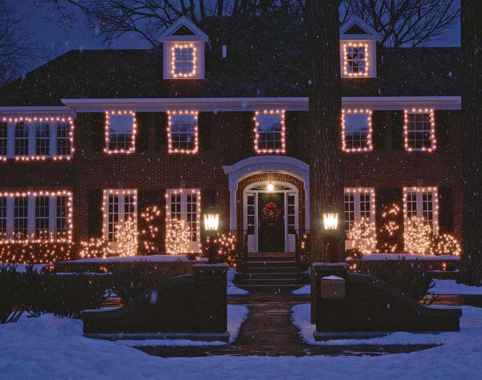 HomeAlone house Mery Christmasby Alexander Shakurin