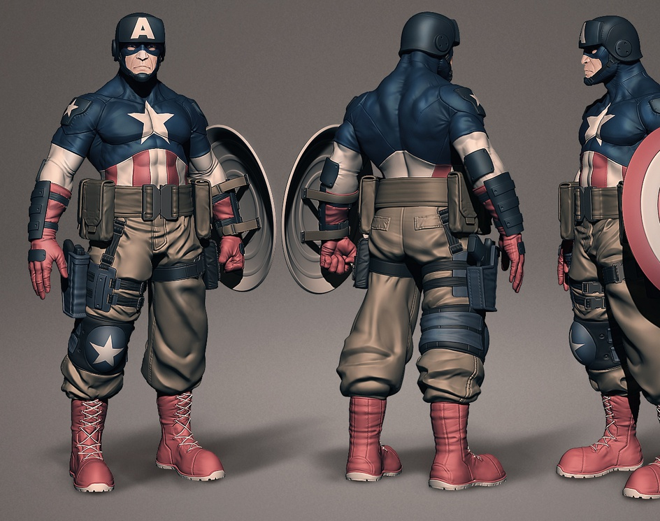 Captain americaby rodolpho303
