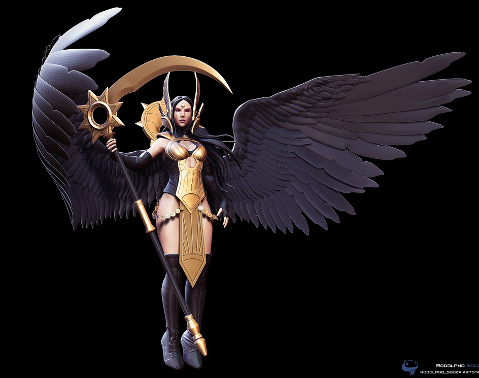 Deathpact angelby rodolpho303