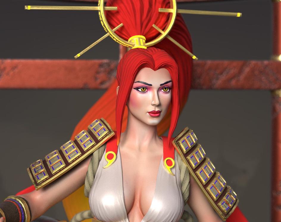 Amaterasu. Goddess of the Sunby S M Bonin