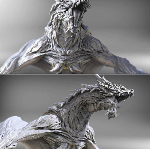 European dragon creature
