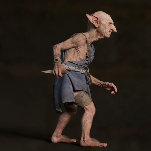 goblin elf fantasy character model 3d