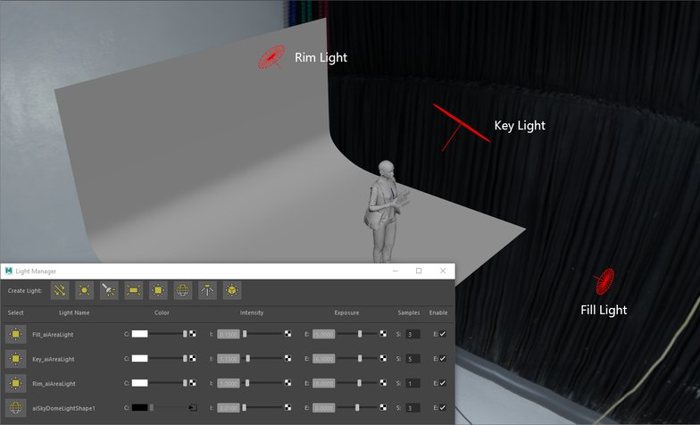 3d game character lighting