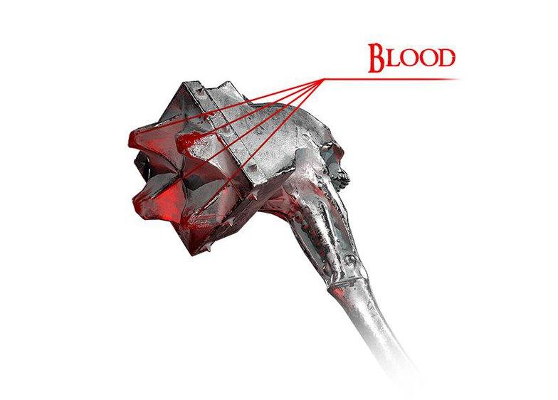 Alexandr Novitskiy fantasy skull warhammer blood