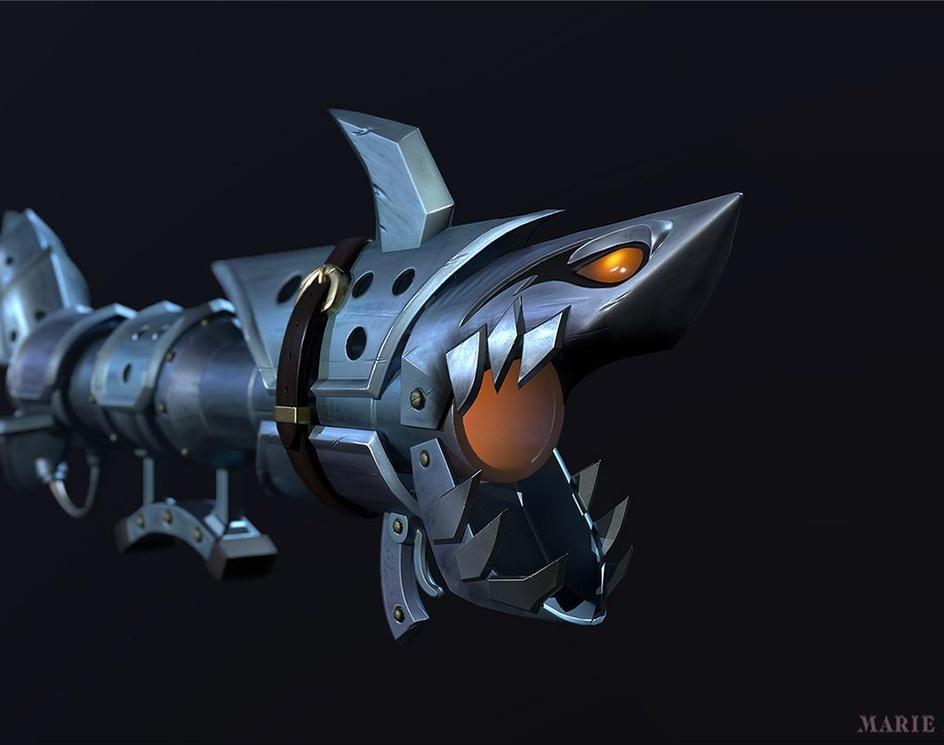 Fishbone, Jinx rocket launcherby tits