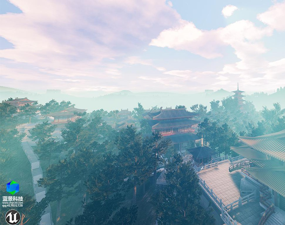 VR of old chinese building,made by Unreal Engineby chen3dart