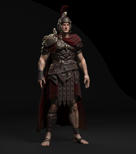 Create a Centurion in ZBrush & 3ds Max