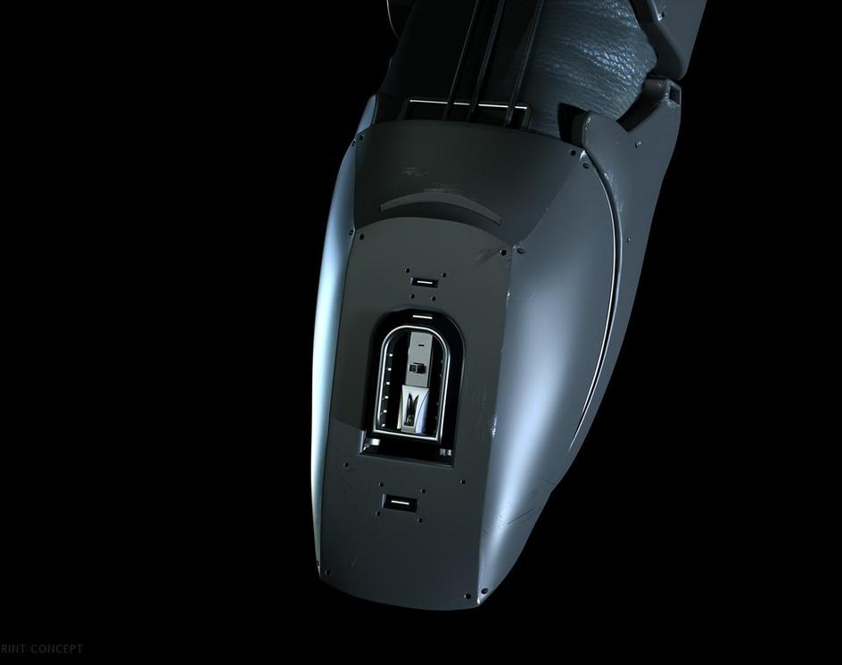Robo Glove- Magnetic Fingerprintby Fryderyk