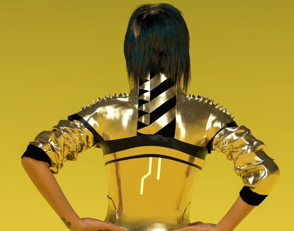 The Cyber Girlby farzan panjvini
