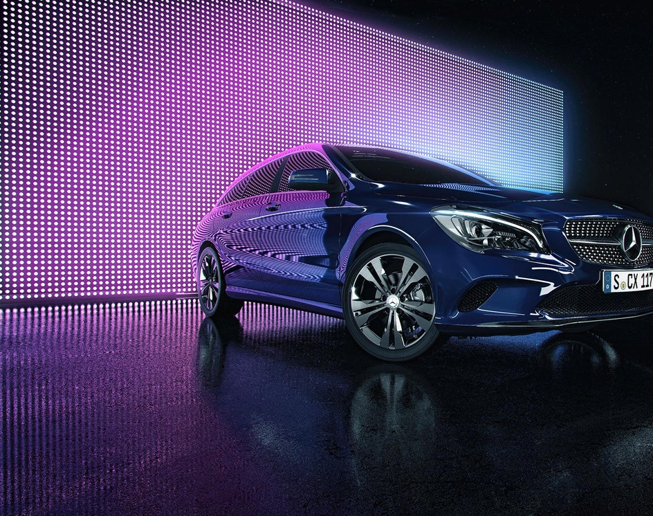 CLA Mercedes Benzby desgasteart