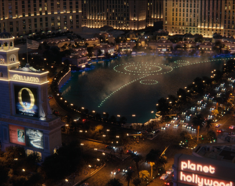 Las Vegas Bellagio fountainsby mikeCG