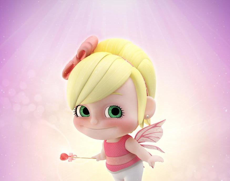 Pink, The Little Fairyby DigoCG