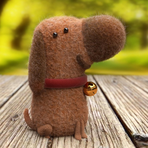 cotton dog animal pet 3d