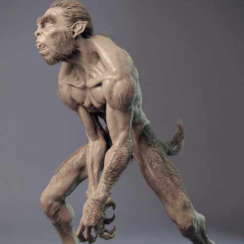 European folklore werewolf hybrid creature
