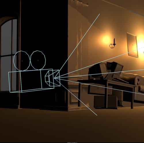 camera direction source filter editing modeling room setup