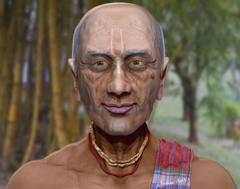 Hare Krishna Gopal Daduby Atanu Das