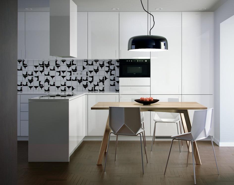 White kitchenby Santiago Riera Coscia