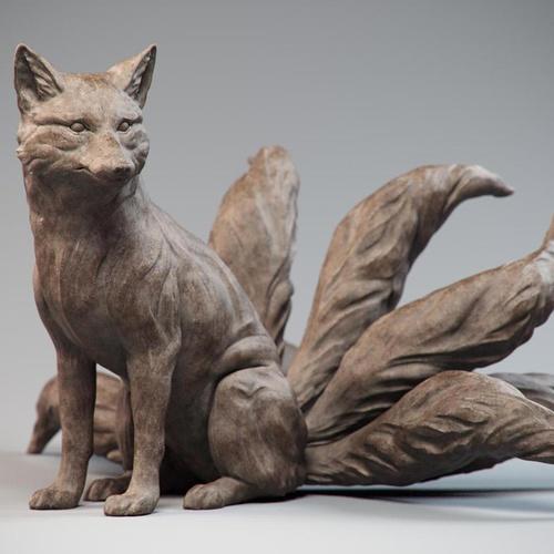 Chinese fox spirit nine-tailed