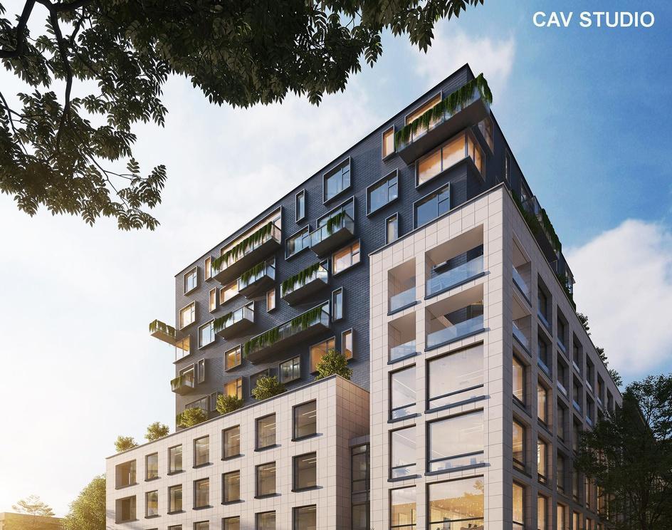 Building renderingby CAVstudio