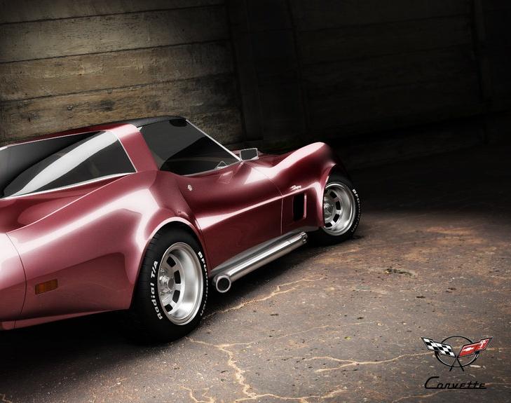 Chevrolet Corvette C3by nano.uk