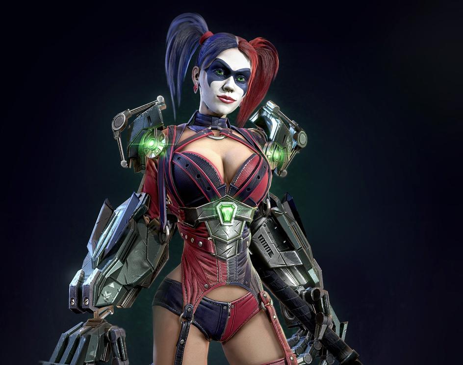Harley Quinn / Lex Luthorby Sergey Romanenko