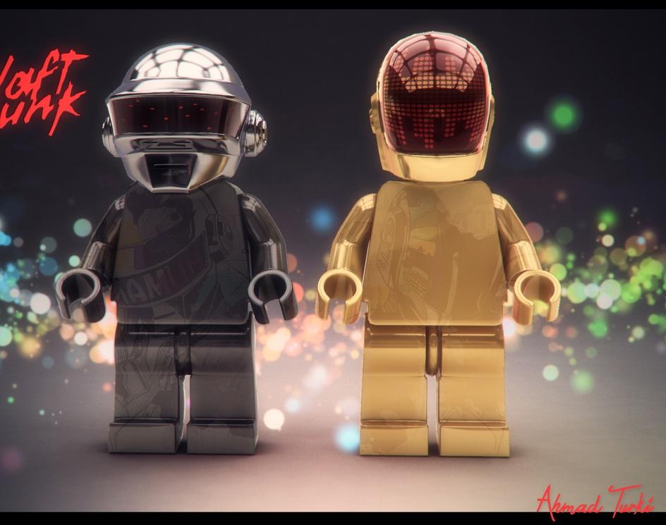 Lego Daft Punkby AhmadTurki182