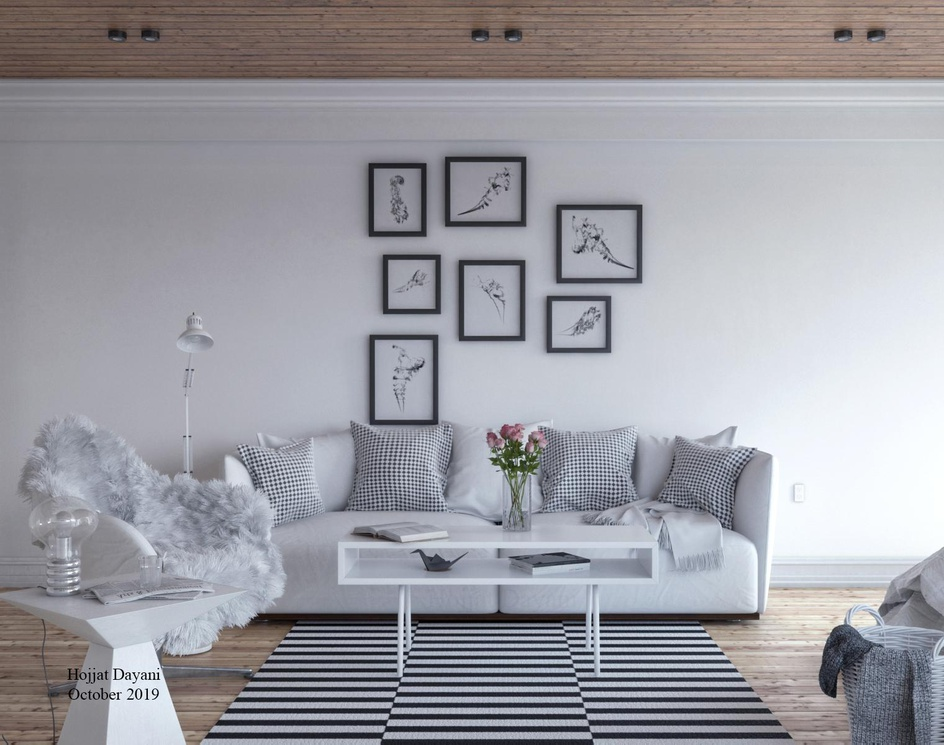 A very White Roomby Hojjat Dayani