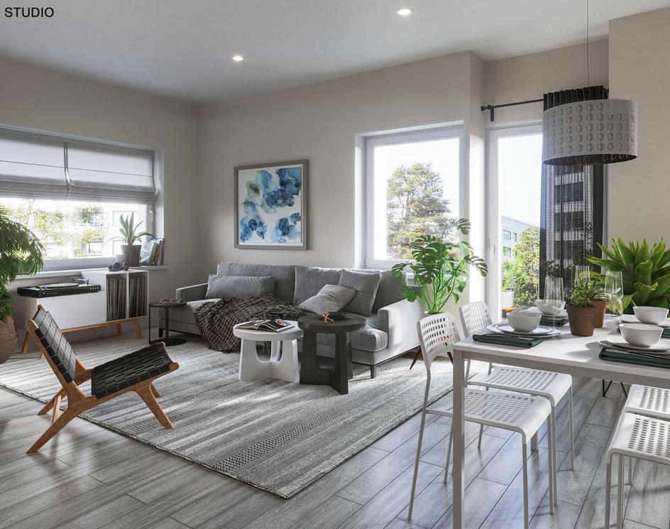 Scandinavian Livingroomby CAVstudio