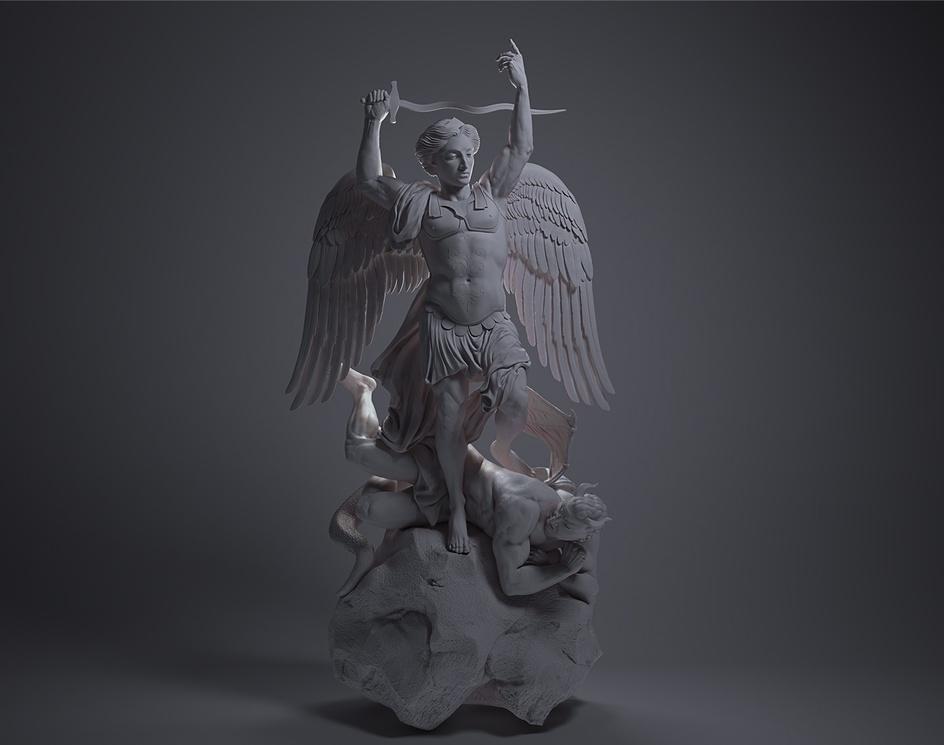 Michael Archangelus contra Luciferumby Batoriova