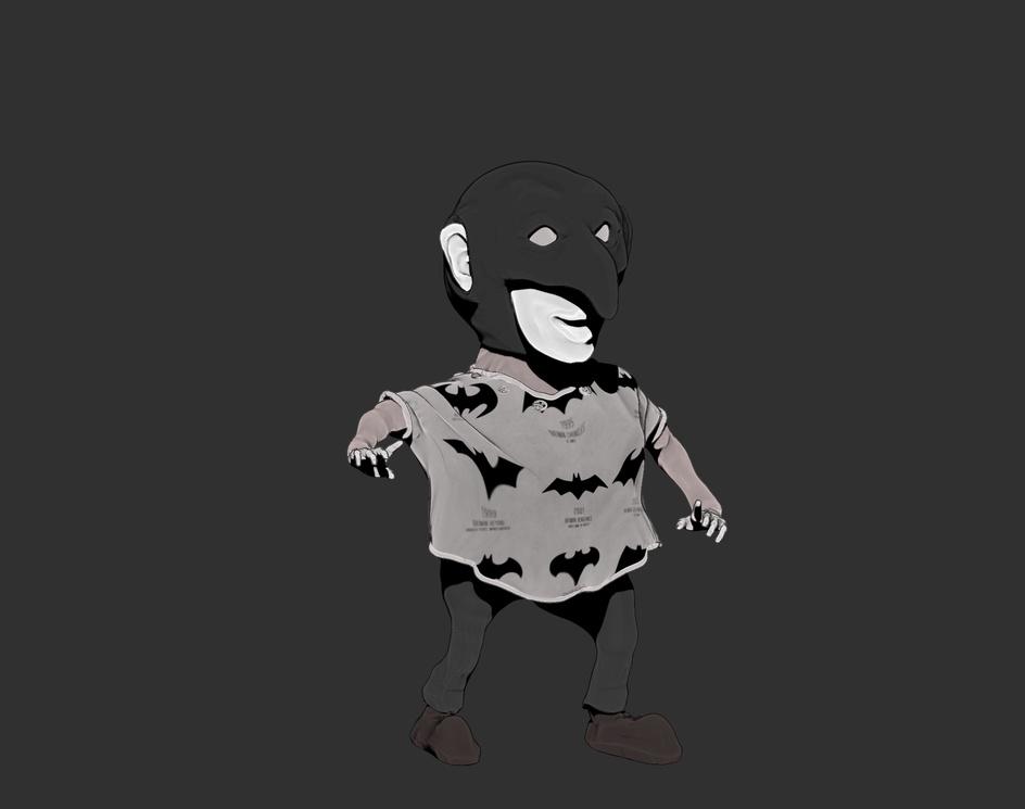 LITTLE BATMANby markonius