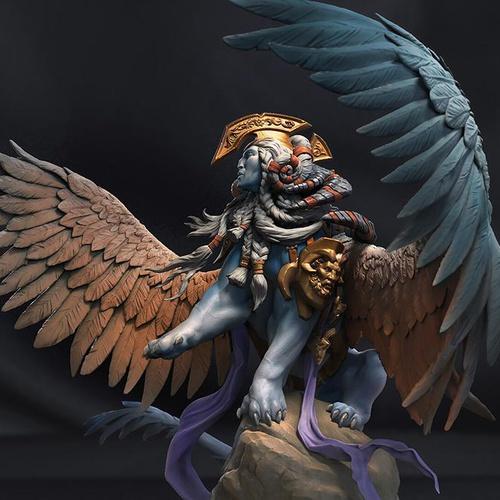 Egyptian mythology sphinx hybrid creature