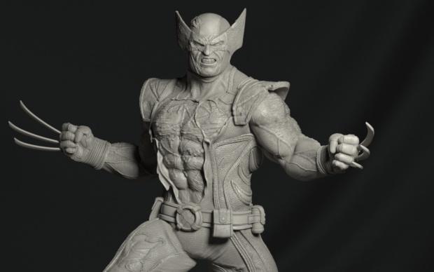 x-men marvel wolverine statue